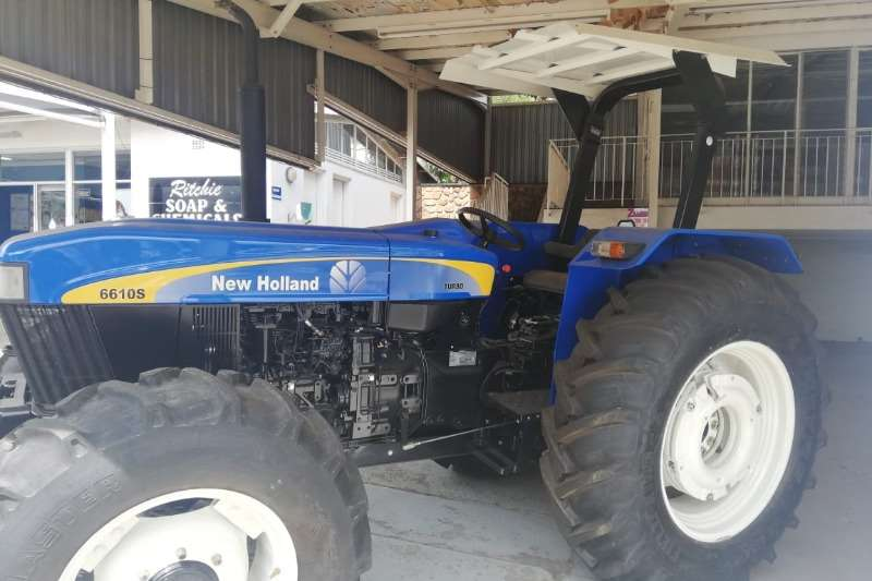 New Holland Four wheel drive tractors 6610 s 4x4 Tractors