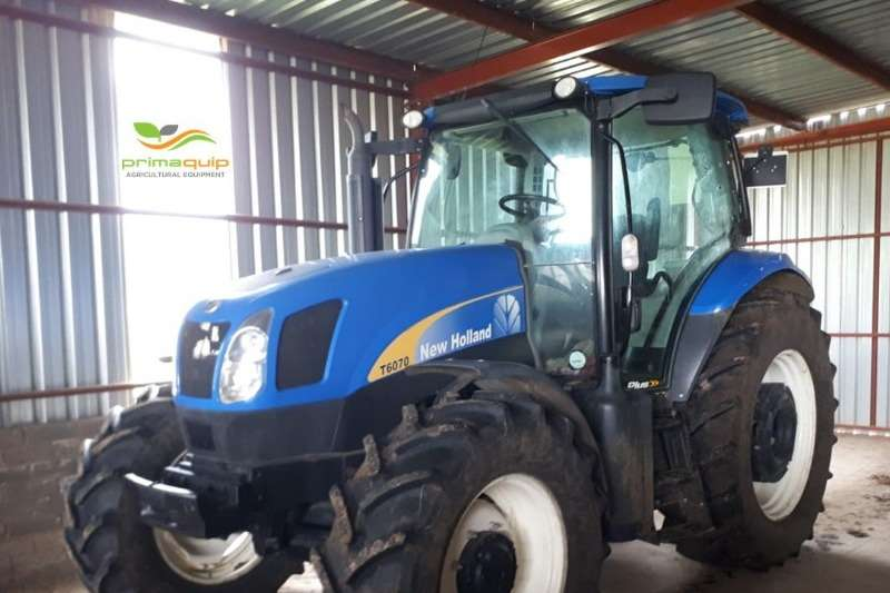 New Holland Tractors Four Wheel Drive Tractors New Holland T 6070 2014
