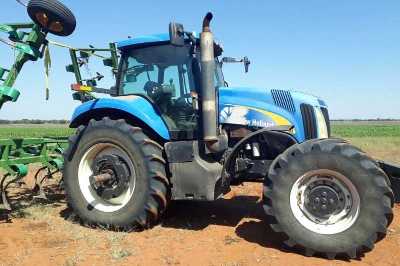 New Holland Tractors Four Wheel Drive Tractors New Holland T 8040 2008
