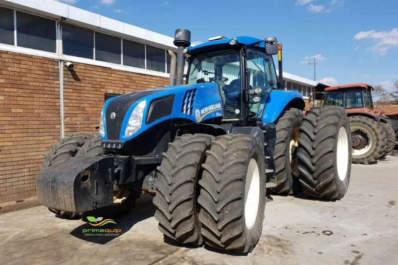 New Holland Tractors Four Wheel Drive Tractors New Holland T8.390 2012
