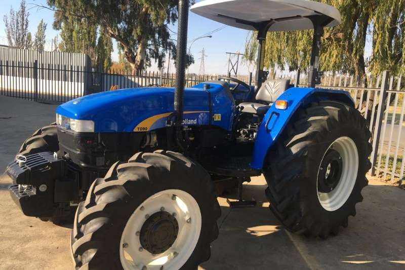 New Holland Tractors Four Wheel Drive Tractors New Holland TD90 2017