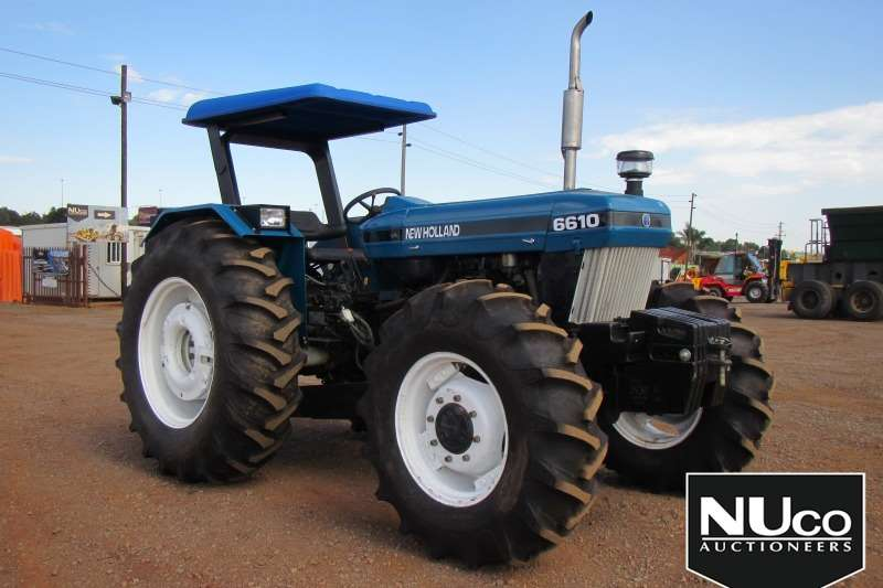 New Holland Tractors NEW HOLLAND 6610 TRACTOR