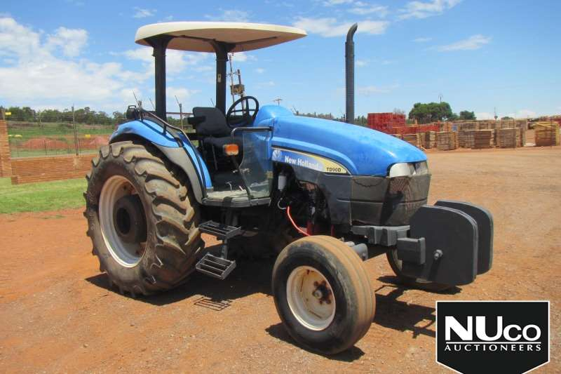 New Holland Tractors NEW HOLLAND TD90D TRACTOR
