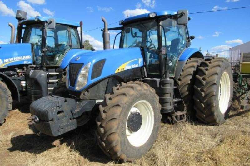 New Holland Tractors Row Crop Tractors New Holland T7060DT Tractor 2013