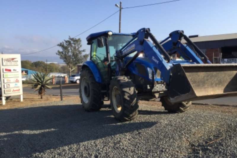 New Holland Td590  dt with fel Tractors