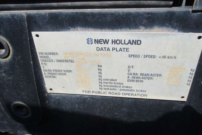 New Holland Utility tractors New Holland 8030, 4x4 Tractor Tractors