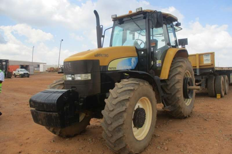 New Holland Tractors Utility Tractors New Holland TM7030 Tractor
