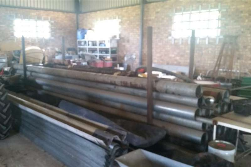 6 meter Galvanized steel pipes Other