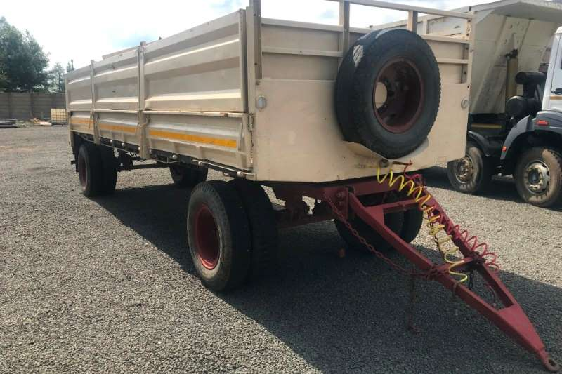 Other Grain trailers Dropside + Cattle Rail Agricultural trailers