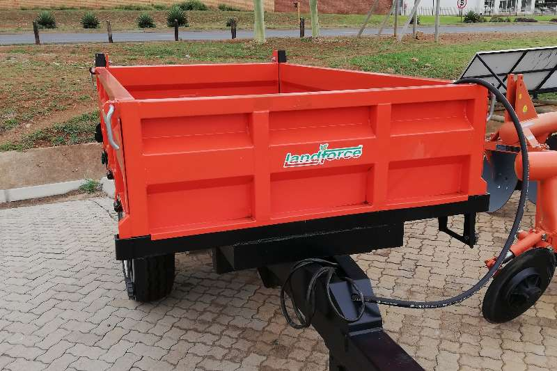 Other Tipper trailer 2 Ton Landforce Tipper Trailer Agricultural trailers