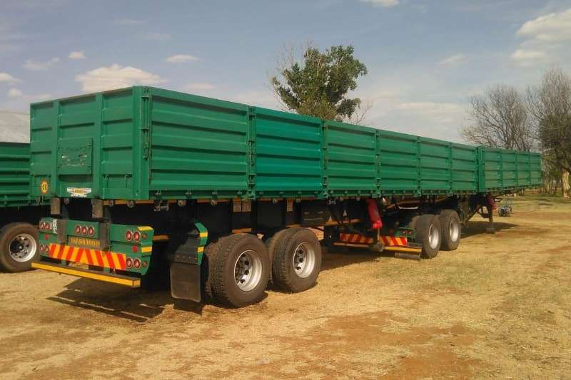 Other Agricultural Trailers Tipper Trailer Trailord Dropside Side Tipper 7/11 2016