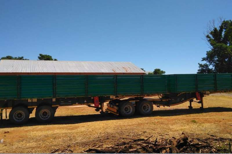 Other Tipper trailer Trailord Dropside Side Tipper 7/11 Agricultural trailers