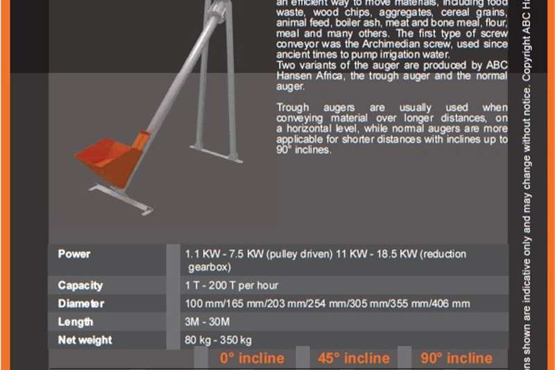 Augers 100mm   203mm Other