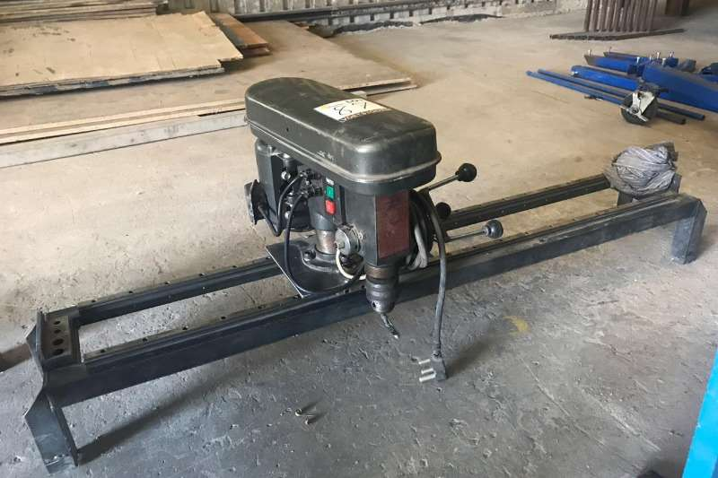 Other BENCH DRILL WITH GUIDE RAILS