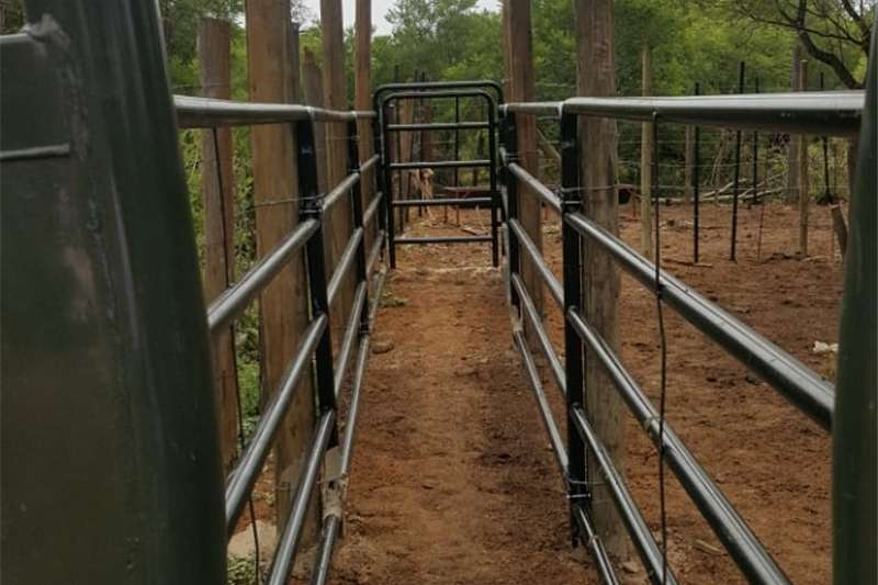 Cattle and sheep steel handling equipment Other