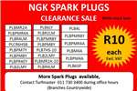 Other CLEARANCE SALE ON SPARK PLUGS 0