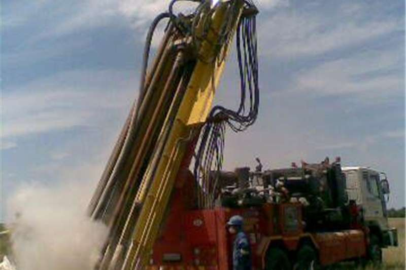 Drill for borehole water Other