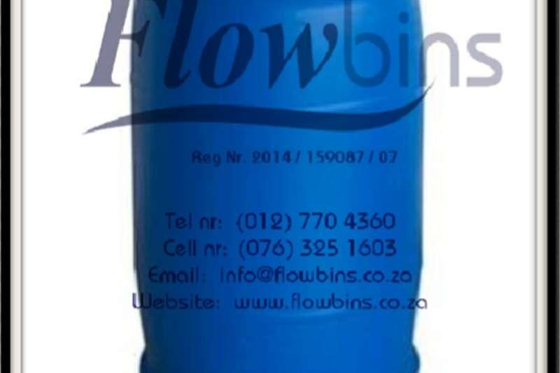 Gauteng: 210Lt Blow Pack Plastic drums / Blue roun Other