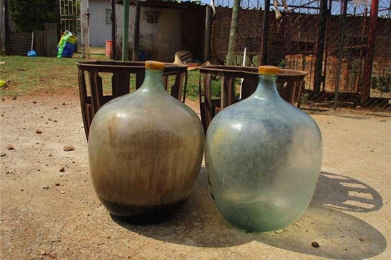 Other Glasbottels vir die maak van wyn of mampoer, versa