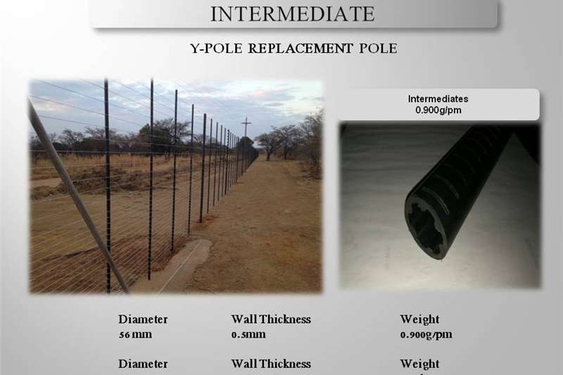 HDPE PLASTIC FENCING POLES Other