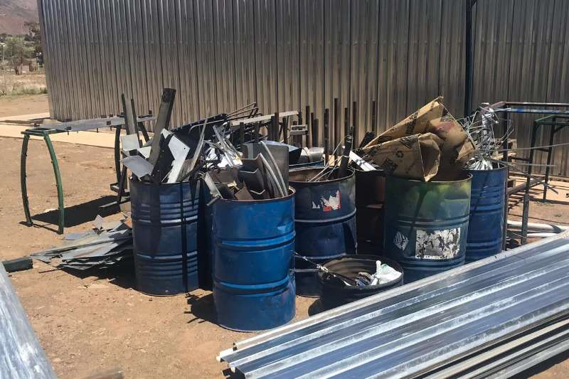 Other LOT SCRAP METAL & CORRUGATED IRON SHEETS