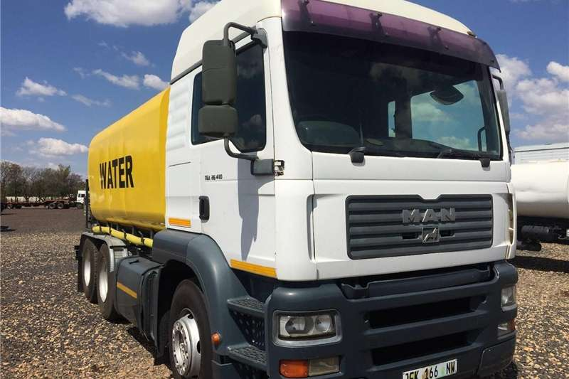MAN TGA 26 410 Watertank Double Axle16000L Pre Own Other