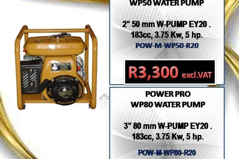Other POWER PRO WATER PUMPS