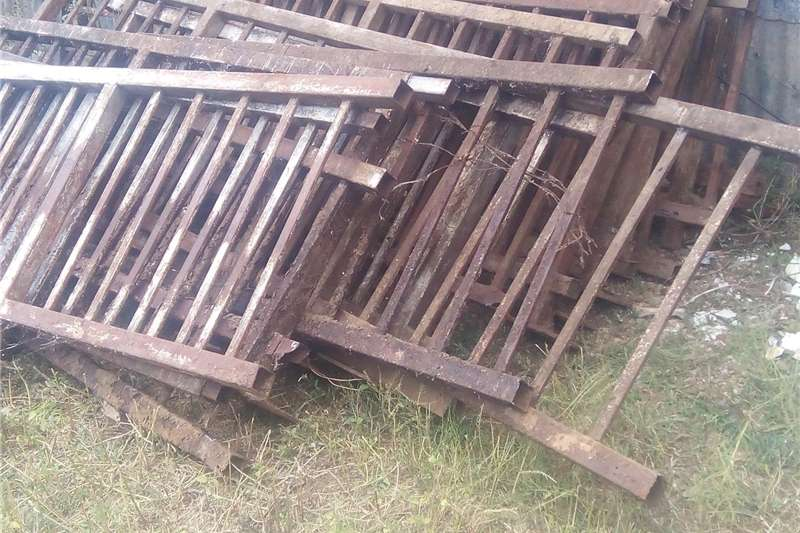 Railings for livestock Other