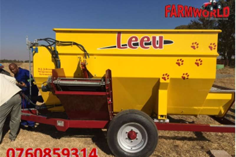 S2495 Yellow Leeu 6m Voermenger/Feeder with Scale Other