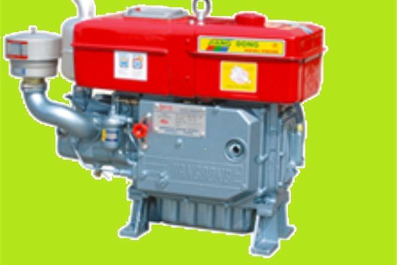 S659 Red Hippo 20Hp Diesel Engine (Yanmar Type, Wa Other
