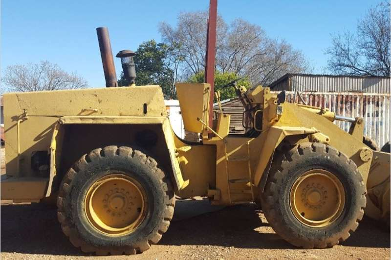 S739 Yellow Hanemag Pre Owned Front End Loader Other
