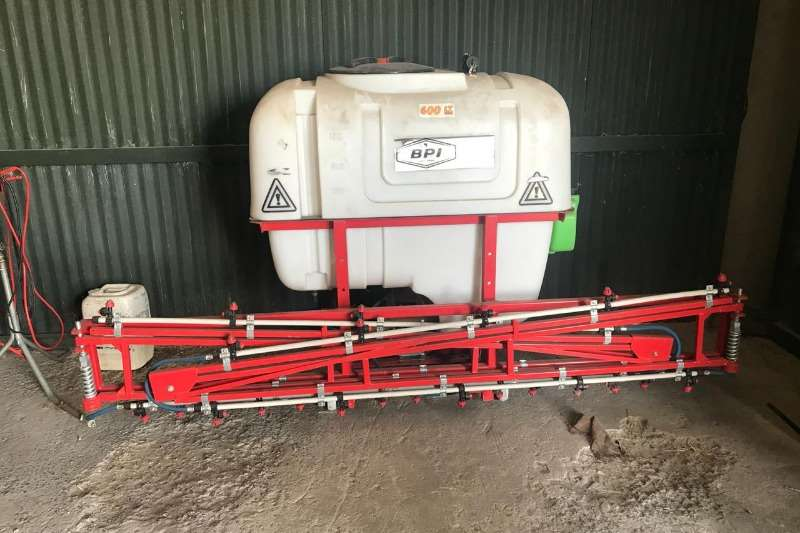 Other Sprayers and Spraying Equipment Boom Sprayers BPI 600 Liter Sprayer