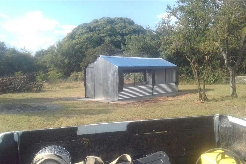 STEEL CHICKEN HOUSES BROILER & LAYERS.  3x6m R6000 Other
