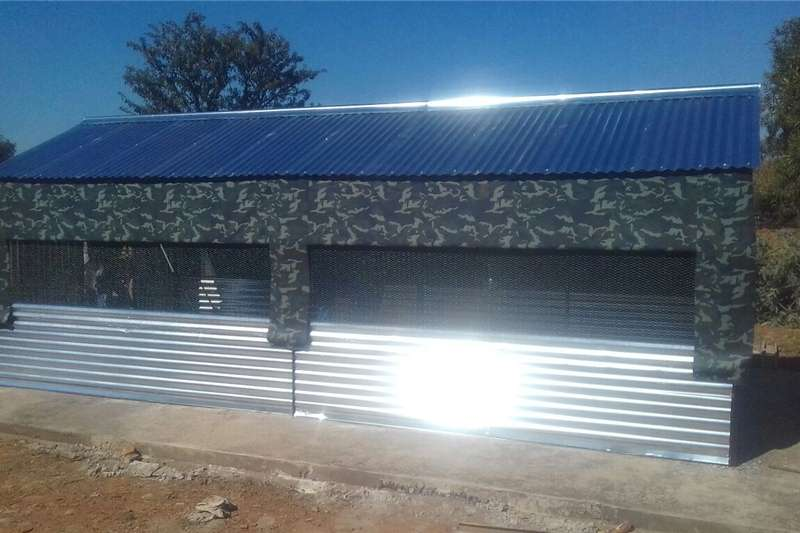 Other STEEL CHICKEN HOUSES BROILER & LAYERS.  3x6m R6000