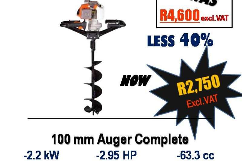 STILLETTO EARTH AUGER 100mm Other