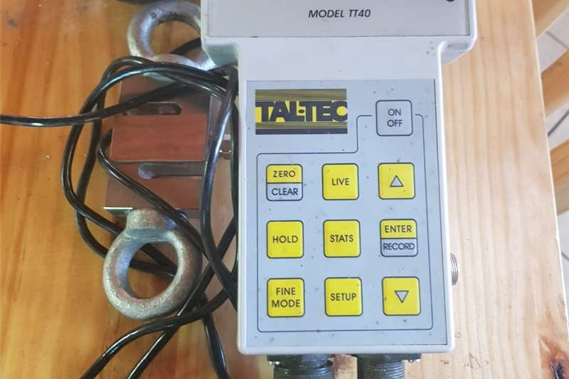TALTEC electronic scale and loadshell for sale Other