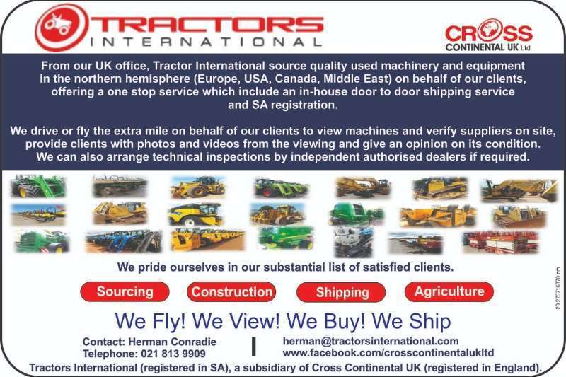 Other Tractors Other Tractors WE BUY SELL IMPORT AND SOURCE AND SHIP MACHINERY 2018