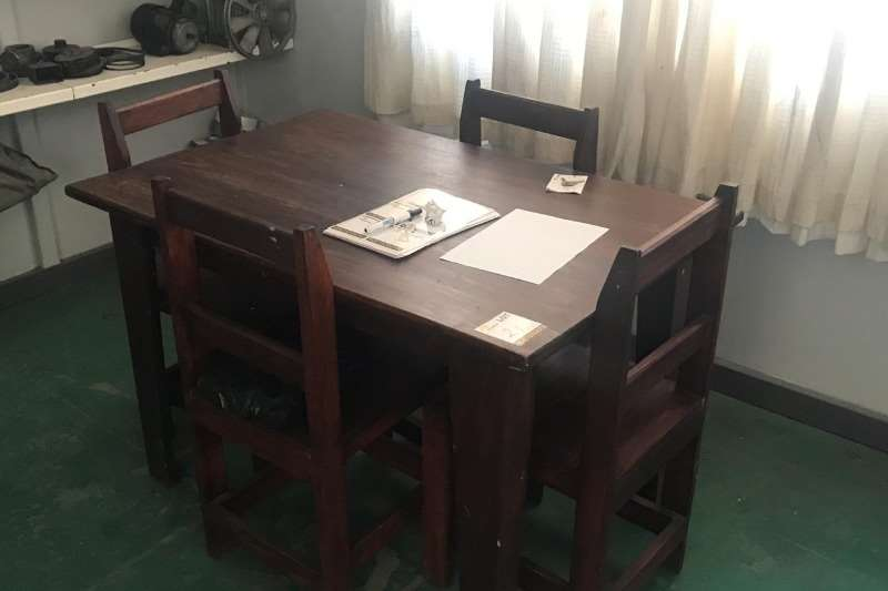 Other WOODEN TABLE & 4 X CHAIRS