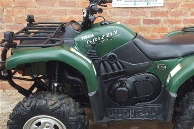 Yamaha Grizzly 660cc 4x4 Other
