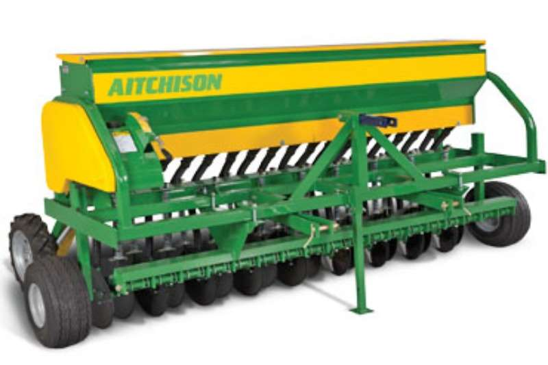 AITCHISON Grassfarmer Disc Drill Planting and seeding