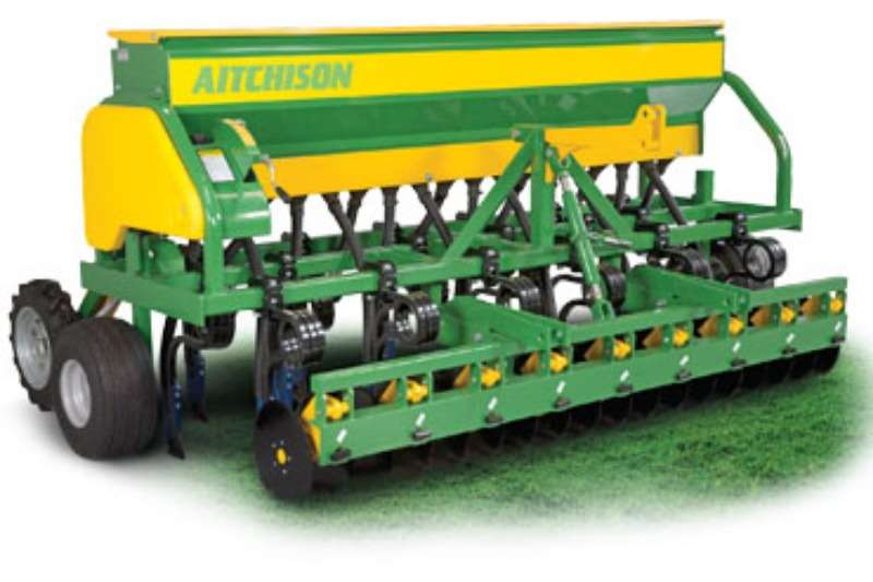 Planting and Seeding AITCHISON Grassfarmer Tine Drill