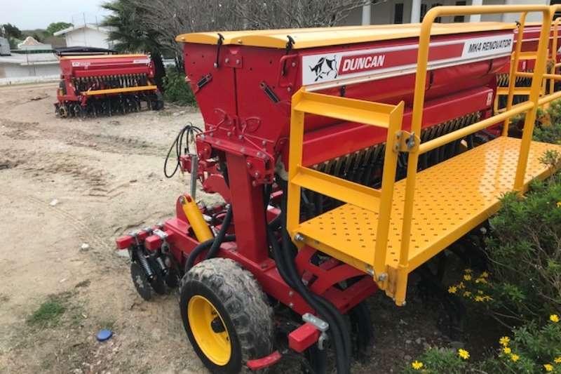 DUNCAN RENOVATOR MK4 24 R    ELEKTRIES   NUUT Planting and seeding