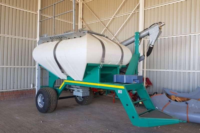 Flintco SF0606 Saadkar met 5 m Auger Planting and seeding