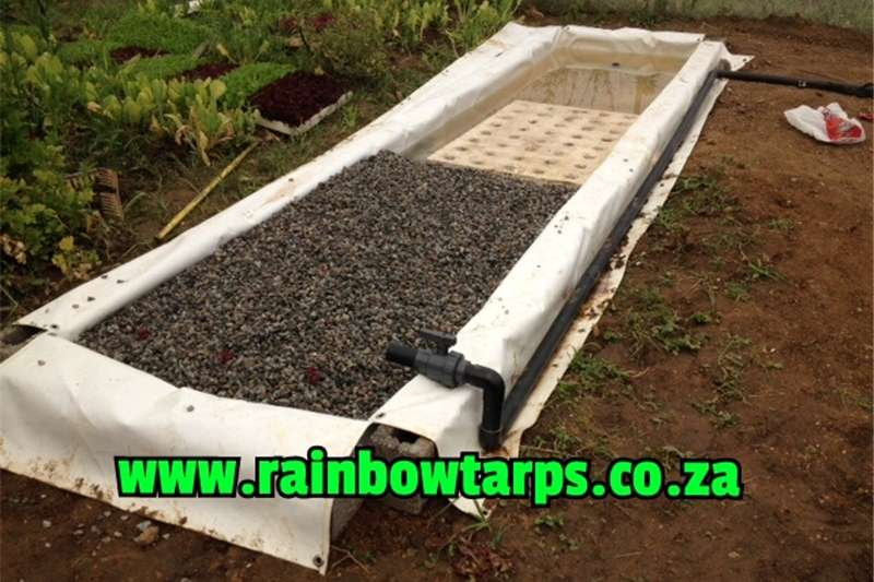 Other planting and seeding Aquaponic Growbed Liners/ Akwaponiese Groeibedding Planting and seeding