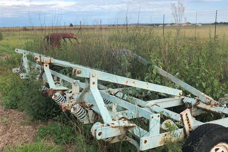 Planting and Seeding Row Units John Schearer Saadbedvoorbereider met Rollers en e