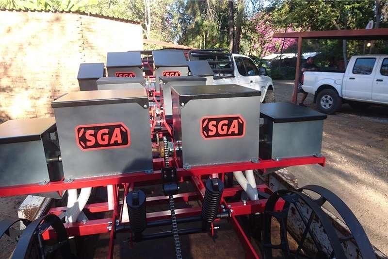 Row units SGA 2 Row planter Planting and seeding