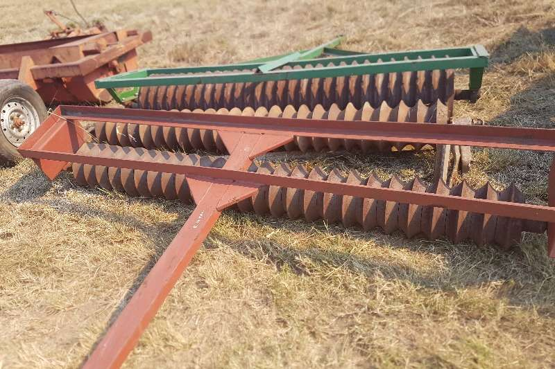 Tef Roller Planting and seeding