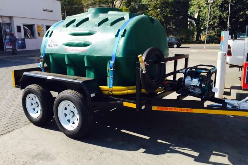 Platinum Water trailers 2500L Water bowser Agricultural trailers