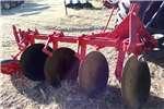 Ploughs Disc ploughs 4 Skaar skottelploeg