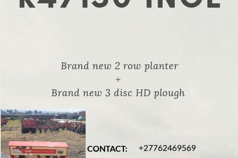 Disc ploughs Brand new Implement Combos Ploughs